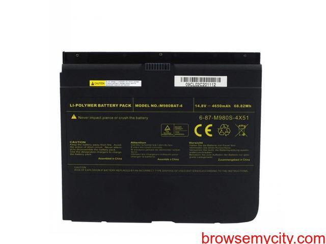 Batterie originale Clevo 6-87-M980S-4X51, M980BAT-4, X8100