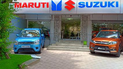 Maruti Suzuki ARENA Car Showroom in Worli, Mumbai - Vitesse