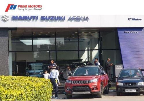 Visit Prem Motors Maruti Car Showroom in Gurgaon for Your