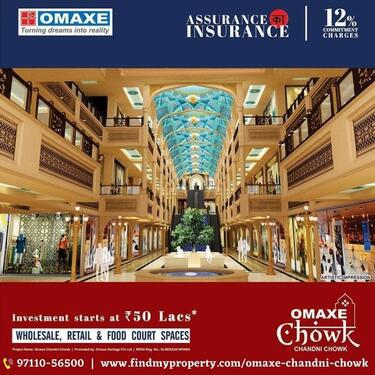 Omaxe chandni chowk The perfect location the affordable pric