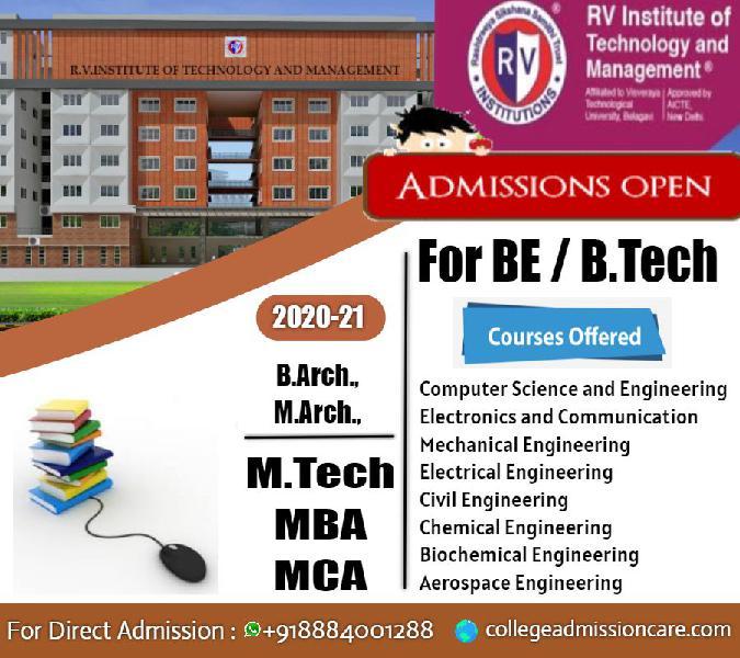 RV College of Engineering Management Quota Admission