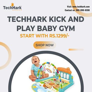 Techhark Kick and Play Baby Gym for Kids