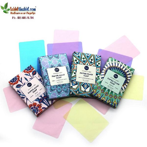 Paper Soap | Paper Soap Strips Online| TabletShablet