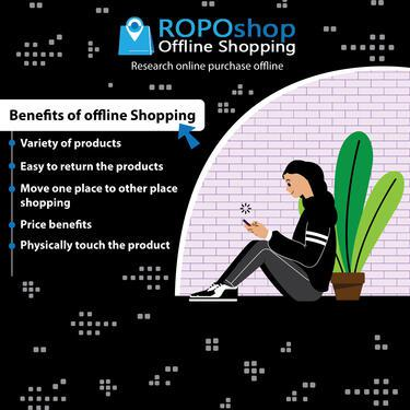 ROPOshop Offline shopping site in India