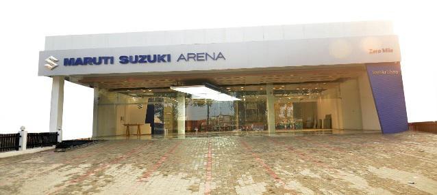Ramkrishna Motors Suzuki Showroom In Muzaffarpur