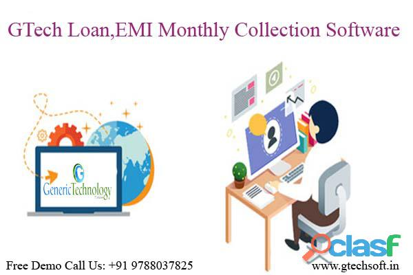 GTech Loan EMI Monthly Collection Software