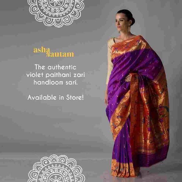 BEST AND EXCLUSIVE PAITHANI SAREES IN INDIA - ASHA GAUTAM