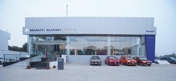 Come to Yug Cars Maruti Suzuki Showroom Ujjain