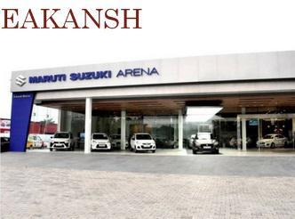 Reach Eakansh Wheels Maruti Suzuki Showroom in Rohtak