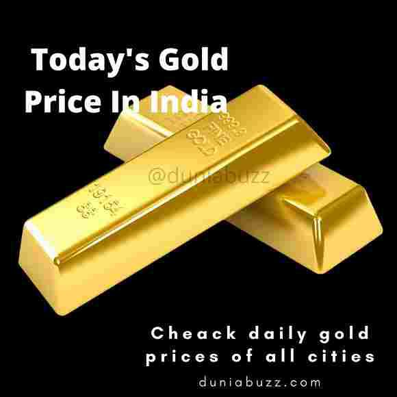 24 Carat Gold Price In India | 22 Carat Today Gold Rate In