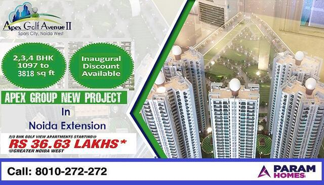 2 BHK Apartments For Sale Apex Golf Avenue Phase 2