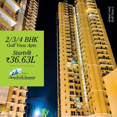 Apartments For Sale in Noida Extension at Apex Golf Avenue 2