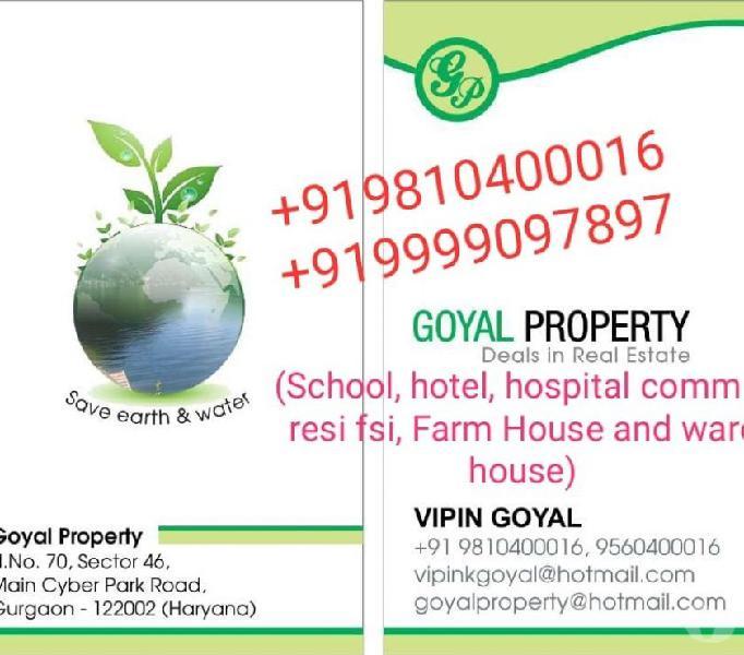 Sale 21000 sq yards main road hauz khas delhi