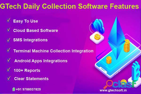 GTech Daily Collection Software Feature