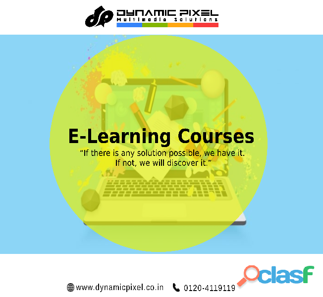 Best E Learning Course in Ghaziabad/ Delhi