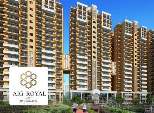 Buy 23 BHK Apartments in Sector 1 Noida Extension AIG Roy