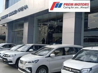 Call on Prem Motors Jaipur Maruti Suzuki Showroom Contact