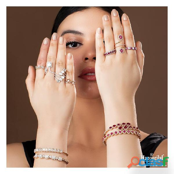 Hazoorilal engagement jewellery set in delhi