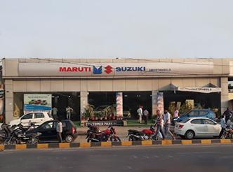 Come to Smartwheels Pvt Ltd Maruti Showroom in Faizabad