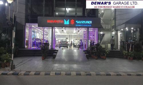 Visit Dewar's Garage Maruti Car Showroom in Kolkata