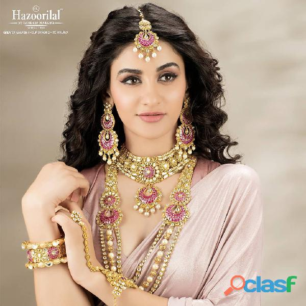 Hazoorilal is the best choice for gold jewellery in India.