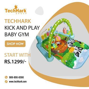Techhark Kick and Play Baby Gym for Children