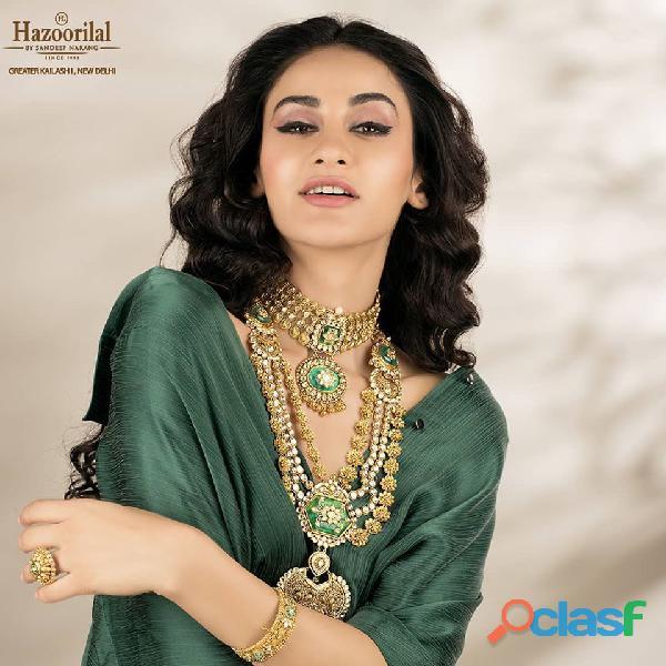 Hazoorilal Polki jewellers in india