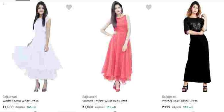 Shop Rajkumari Women Dresses Online at Flipkart