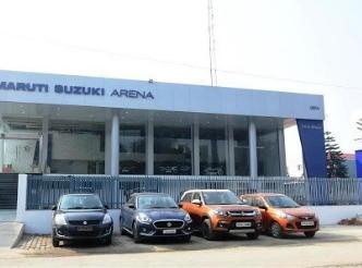 Come to Smartwheels Pvt Ltd Maruti Suzuki Showroom Gorakhpur