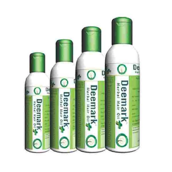 Buy Deemark Herbal Hair Oil Plus For Hair Fall Problems