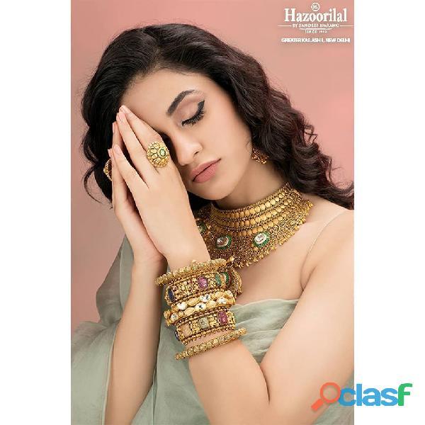 Buy Gold Jewellery in Delhi