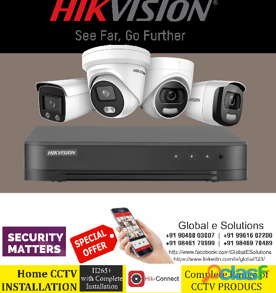 Hikvision Dealers in ERNAKULAM | Hikvision Distributor in