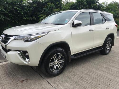 White 2019 Toyota Fortuner 28 4x2 AT 56200 kms driven