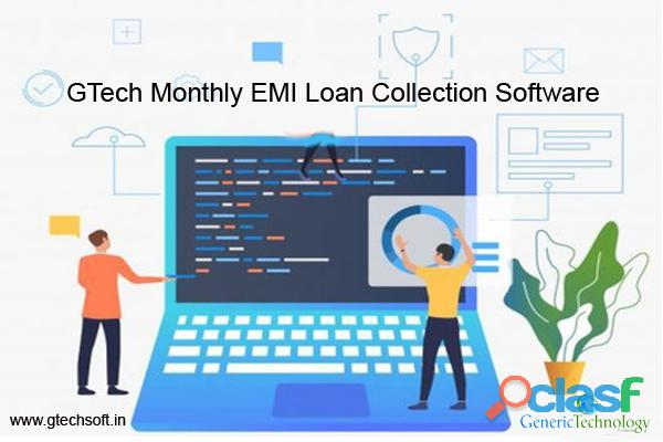 GTech Monthly EMI Loan Collection Software