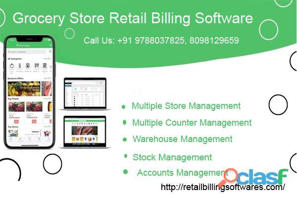 Gene Grocery Store Retail Billing Software