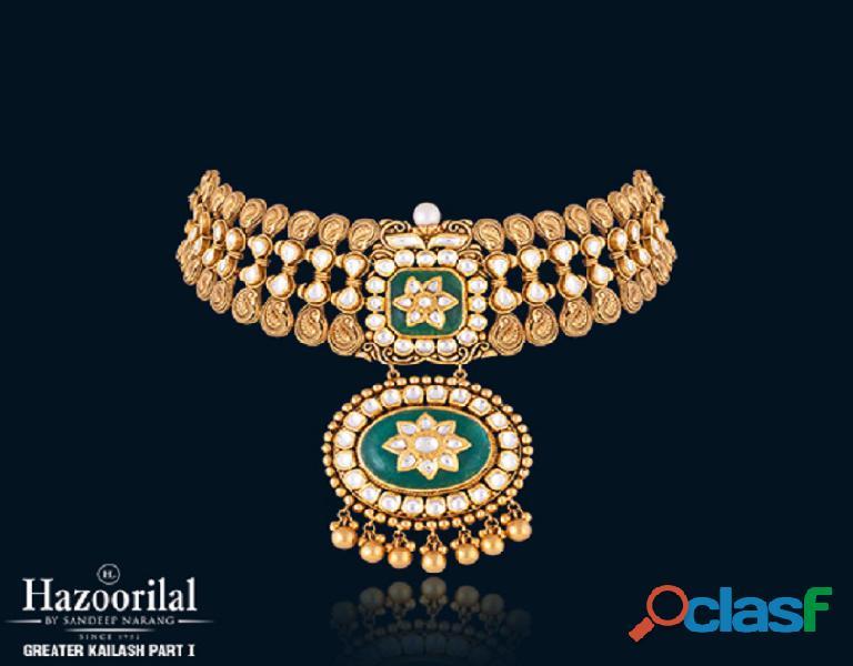 Hazoorilal has got the best mehandi jewellery in Delhi for