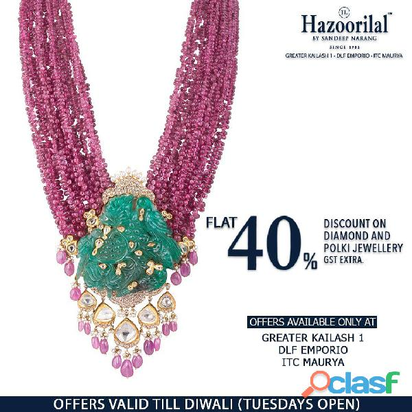 One of the leading bridal jewellery in Delhi
