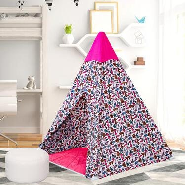 Pink Playhouse Tent for Girls in India