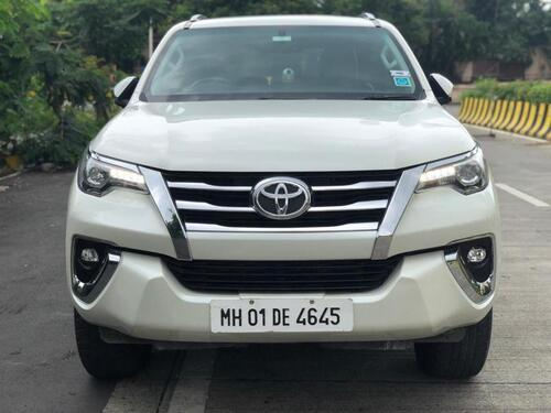 White 2019 Toyota Fortuner 28 4x2 AT 59288 kms