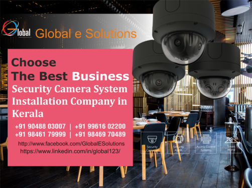 Smart Business Security Camera Commercial Video Surveillan