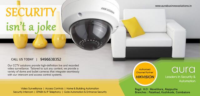 Aura No1 CCTV Camera Installation Service Adoor