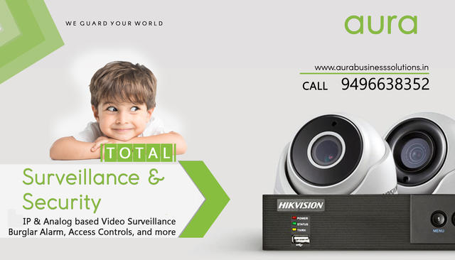 CCTV Palakkad AURA BUSINESS SOLUTIONS
