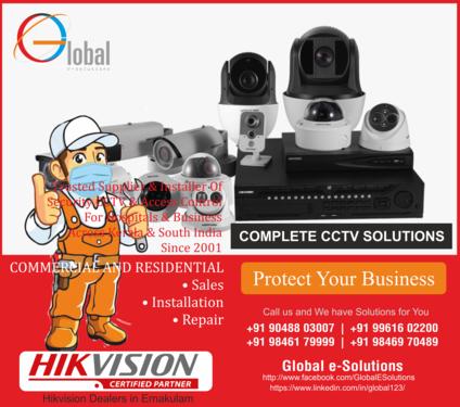 CCTV Camera Services in Kochi Kerala India CCTV Camera