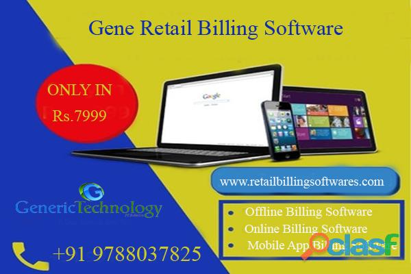 Gene Retail Billing Software Benefits